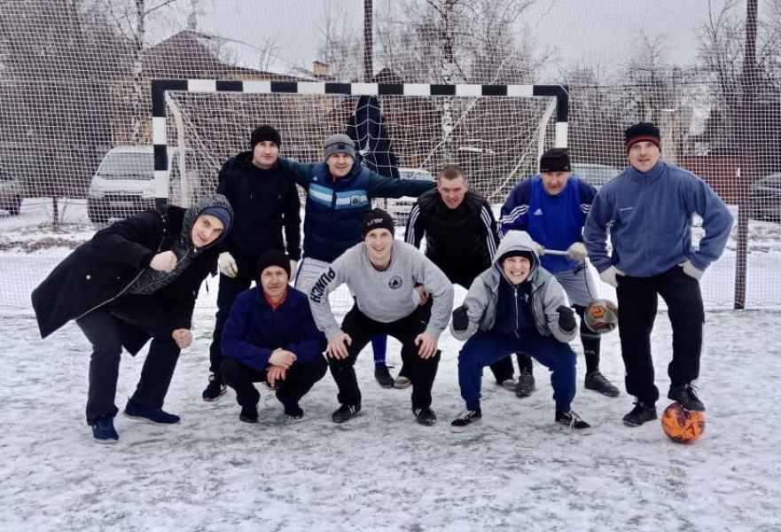 Футбольный турнир наших студентов