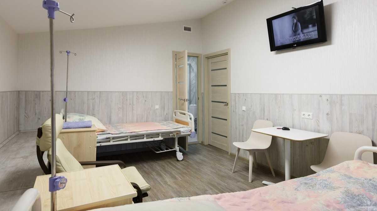 Стационар клиники лечения алкогольной зависимости в Москве